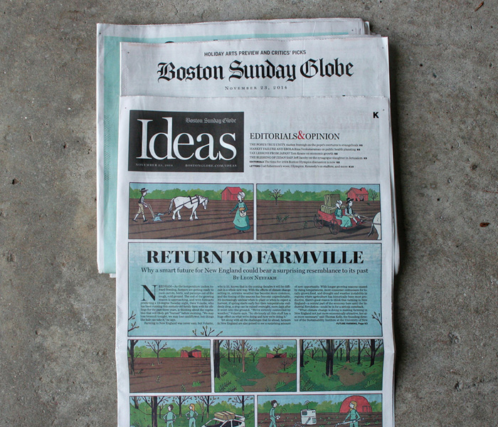 Boston Globe - Return to Farmville
